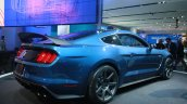 Shelby GT350R Mustang rear quarter at the 2015 Detroit Auto Show