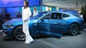 Shelby GT350R Mustang side at the 2015 Detroit Auto Show