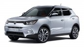 SsangYong Tivoli Front Three quarters Press-Image
