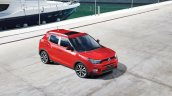 SsangYong Tivoli Red front top view Press-Image