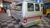 Tata Winger DICOR BS4 rear three quarters at the Bus and Special Vehicle Show 2015