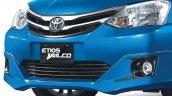 Toyota Etios Valco facelift grille Indonesia