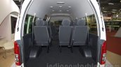 Toyota Hiace boot space at Bus and Special Vehicle Show 2015