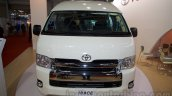 Toyota Hiace front at Bus and Special Vehicle Show 2015