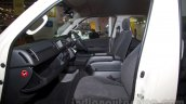 Toyota Hiace front seats at Bus and Special Vehicle Show 2015