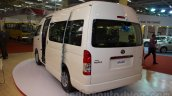 Toyota Hiace rear three quarters left at Bus and Special Vehicle Show 2015