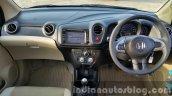 Updated Honda Amaze India interior