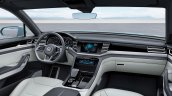 VW Cross Coupe GTE Concept dashboard
