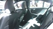 Volvo S60 Cross Country rear seat at the 2015 Detroit Auto Show