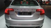 Volvo S60 Inscription rear at the 2015 Detroit Auto Show