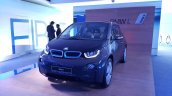 2015 BMW i3 India showcase front quarter