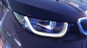 2015 BMW i3 India showcase headlights