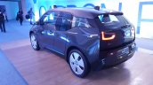 2015 BMW i3 India showcase rear quarter