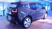 2015 BMW i3 India showcase rear three quarter
