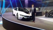2015 BMW i8 India launch sachin tendulkar