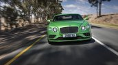 2015 Bentley Continental GT Speed press shot front