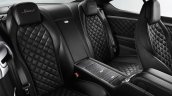 2015 Bentley Continental GT Speed press shot rear cabin