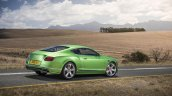 2015 Bentley Continental GT Speed press shot rear quarter