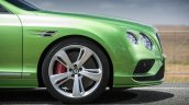 2015 Bentley Continental GT Speed press shot rim