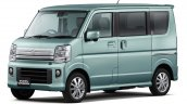 2015 Suzuki Every Wagon front three quarter Japan