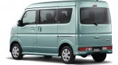 2015 Suzuki Every Wagon rear three quarter Japan