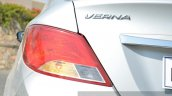 2015 Hyundai Verna diesel facelift LED effect taillight