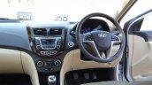 2015 Hyundai Verna diesel facelift dash