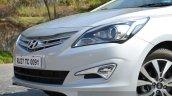 2015 Hyundai Verna diesel facelift front fascia