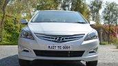 2015 Hyundai Verna diesel facelift front