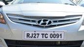 2015 Hyundai Verna diesel facelift grille