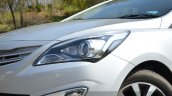 2015 Hyundai Verna diesel facelift lights