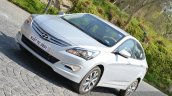 2015 Hyundai Verna diesel facelift profile