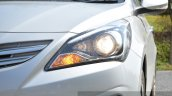 2015 Hyundai Verna diesel facelift projector headlight