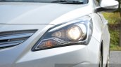 2015 Hyundai Verna diesel facelift projector light