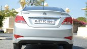 2015 Hyundai Verna diesel facelift rear bumper