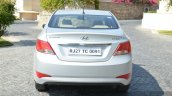 2015 Hyundai Verna diesel facelift rear end