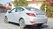 2015 Hyundai Verna diesel facelift rear quarter