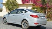 2015 Hyundai Verna diesel facelift rear quarters