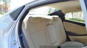 2015 Hyundai Verna diesel facelift rear seat back