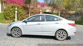 2015 Hyundai Verna diesel facelift side
