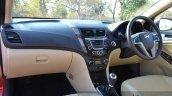 2015 Hyundai Verna petrol facelift dashboard