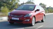 2015 Hyundai Verna petrol facelift dynamic