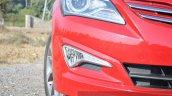 2015 Hyundai Verna petrol facelift foglight