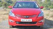 2015 Hyundai Verna petrol facelift front