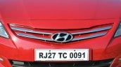 2015 Hyundai Verna petrol facelift grille
