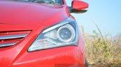 2015 Hyundai Verna petrol facelift headlight