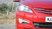 2015 Hyundai Verna petrol facelift lights