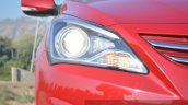 2015 Hyundai Verna petrol facelift projector headlight