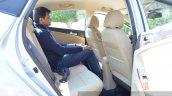 2015 Hyundai Verna petrol facelift rear space