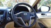 2015 Hyundai Verna petrol facelift steering